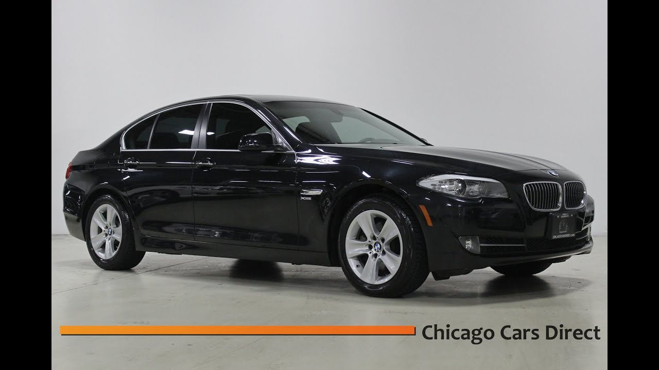 chicago cars direct presents a 2012 bmw 528i xdrive awd automatic sedan in black sapphire. Black Bedroom Furniture Sets. Home Design Ideas