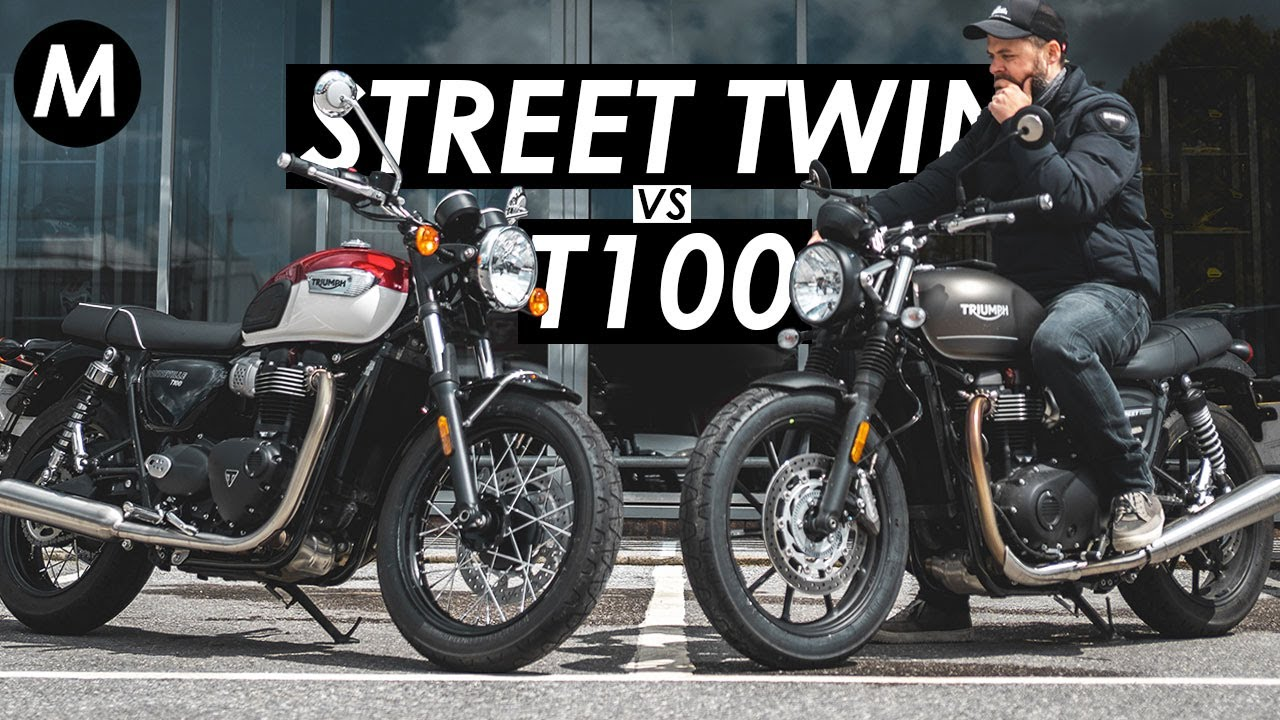 Download New 2021 Triumph Bonneville T100 vs. Street Twin: Which One Would I Buy?