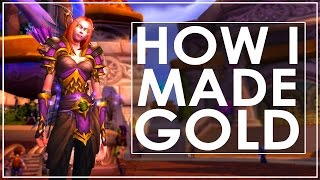 WoW Gold Farming 7.0.3 - Raw Gold and Fur Farming Spot - WoW Legion