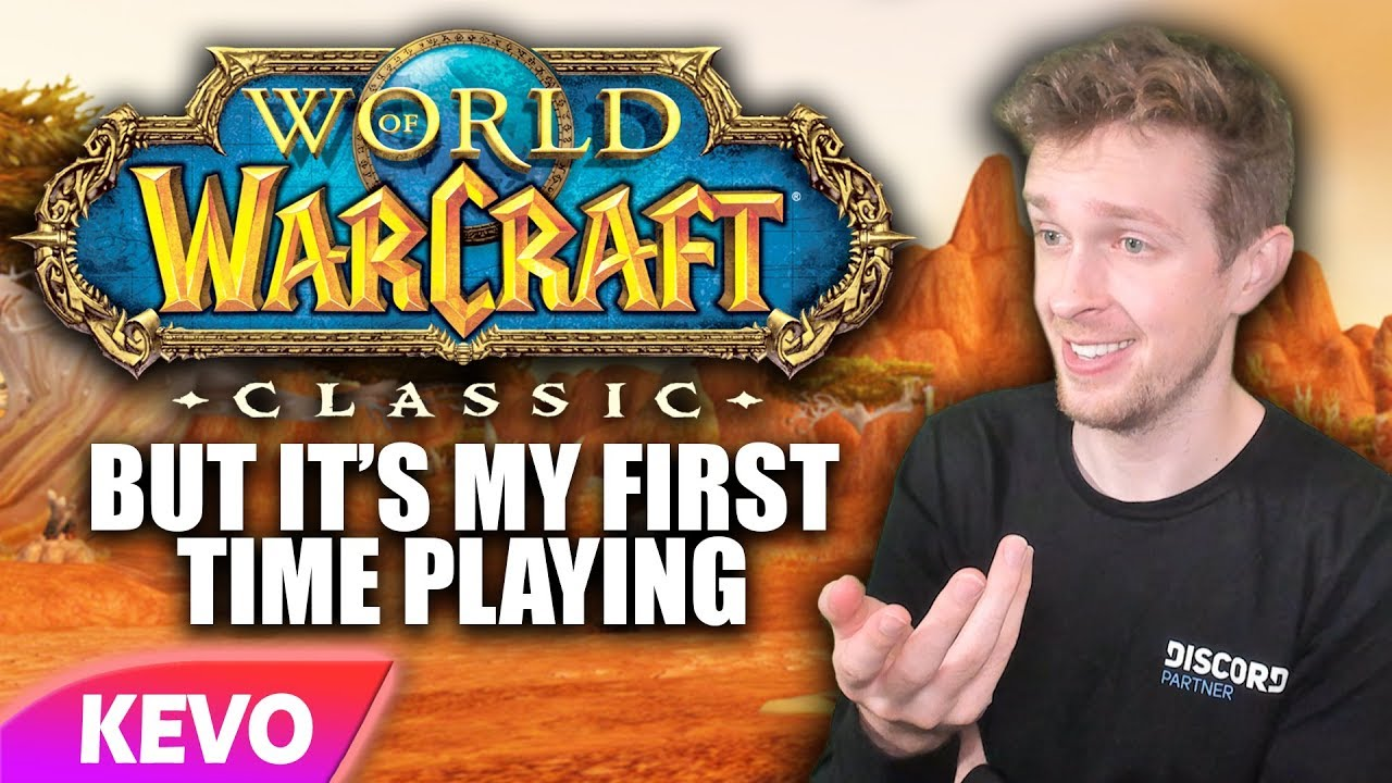World of Warcraft Classic but it's my first time playing thumbnail