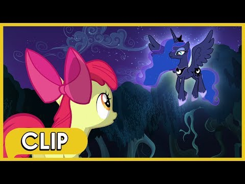 Apple Bloom Encounters Princess Luna - MLP: Friendship Is Magic [Season 5]