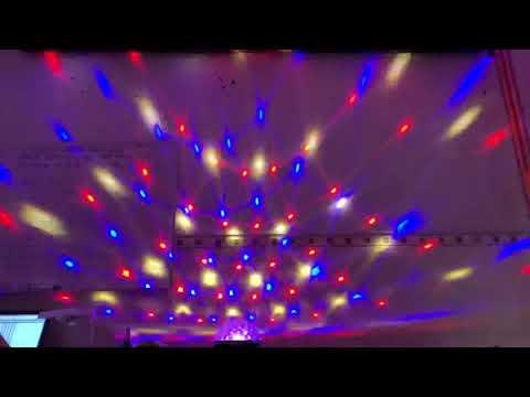 Đèn Nấm F chất lượng cao led nấm F chuyên trang trí phòng karaoke và sân khấu tiệc cưới  0971711705