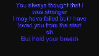 Fall for You by Secondhand Serenade with lyrics