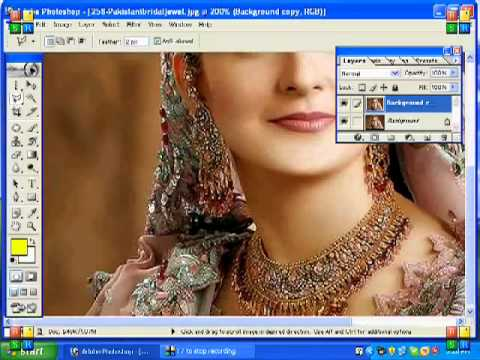 How to use Adobe Photoshop - 6. How to change Background in an ...