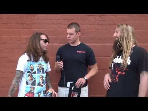 Darkest Hour Interview in Omaha, NE - Backstage Entertainment