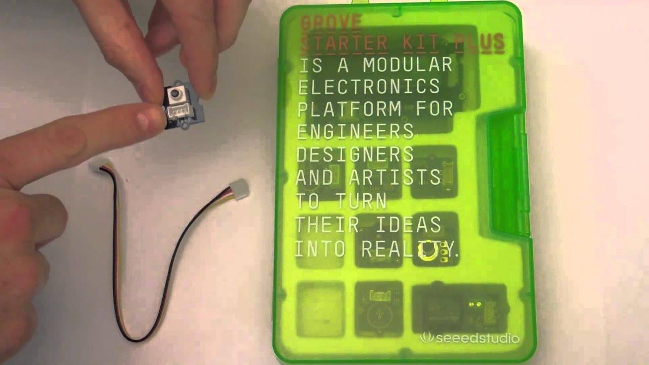 Grove starter kit for arduino setup doovi