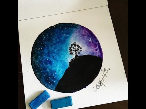 Dibujo Tumblr En Acuarelas Draw Tumblr In Watercolor Youtube