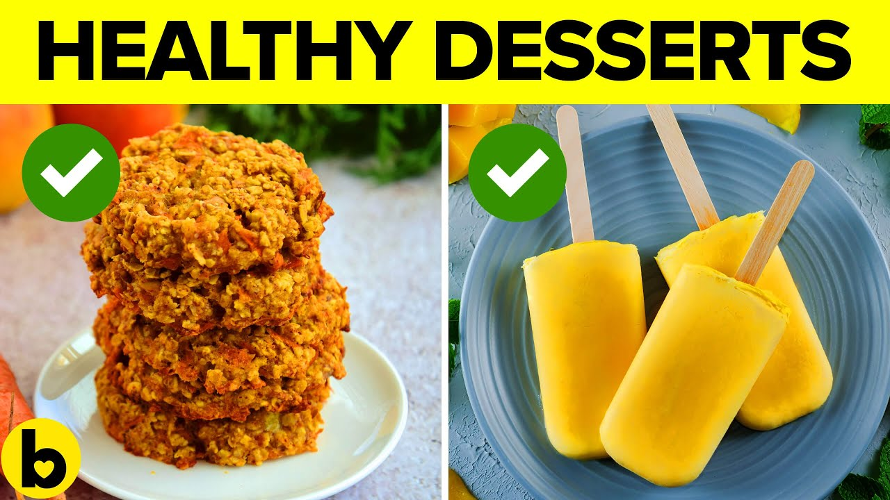 11 Desserts You Won't Believe Are Actually Healthy