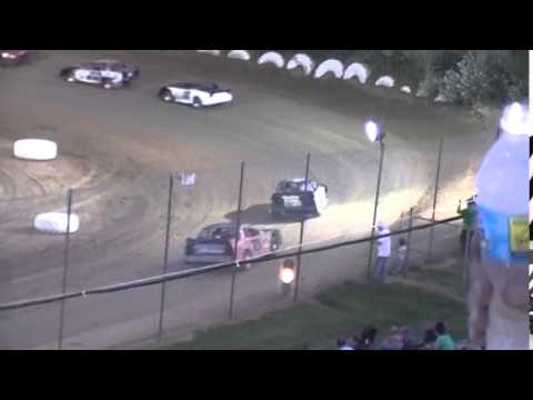 Crowley's Ridge Raceway 7/11/15 #21 Chris Sims Street Stock Heat Race