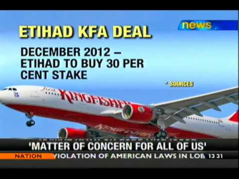 Etihad To Buy 48 Pc Stake Of KFA - NewsX