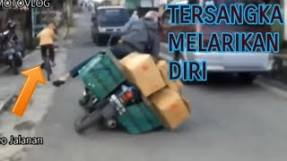 Kumpulan Motor Jatuh Indonesia - COMPILATION CRASH (motovloger indonesian)
