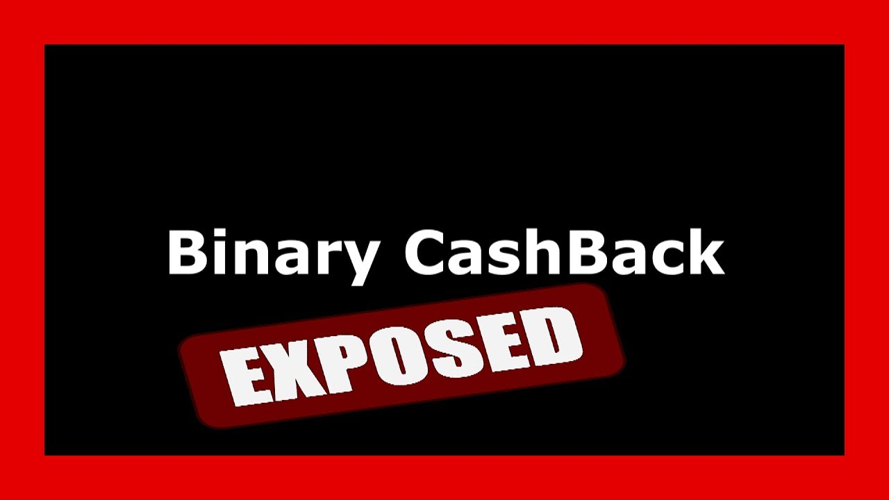 Cashback binary options legit