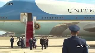 Tổng thổng Trump lần đầu cưỡi Air Force One đẳng cấp nhất thế giới, Chính ông còn Kinh ngạc