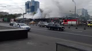 Пожар на Рязанском проспекте.