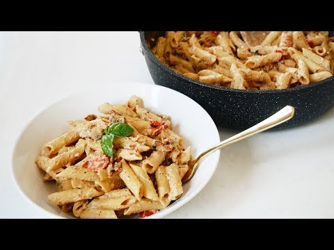 VEGAN SUN-DRIED TOMATO PASTA RECIPE | Easy & Delicious!