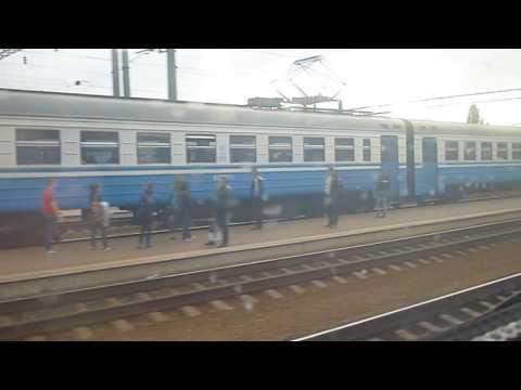 From Kharkiv to Poltava by train