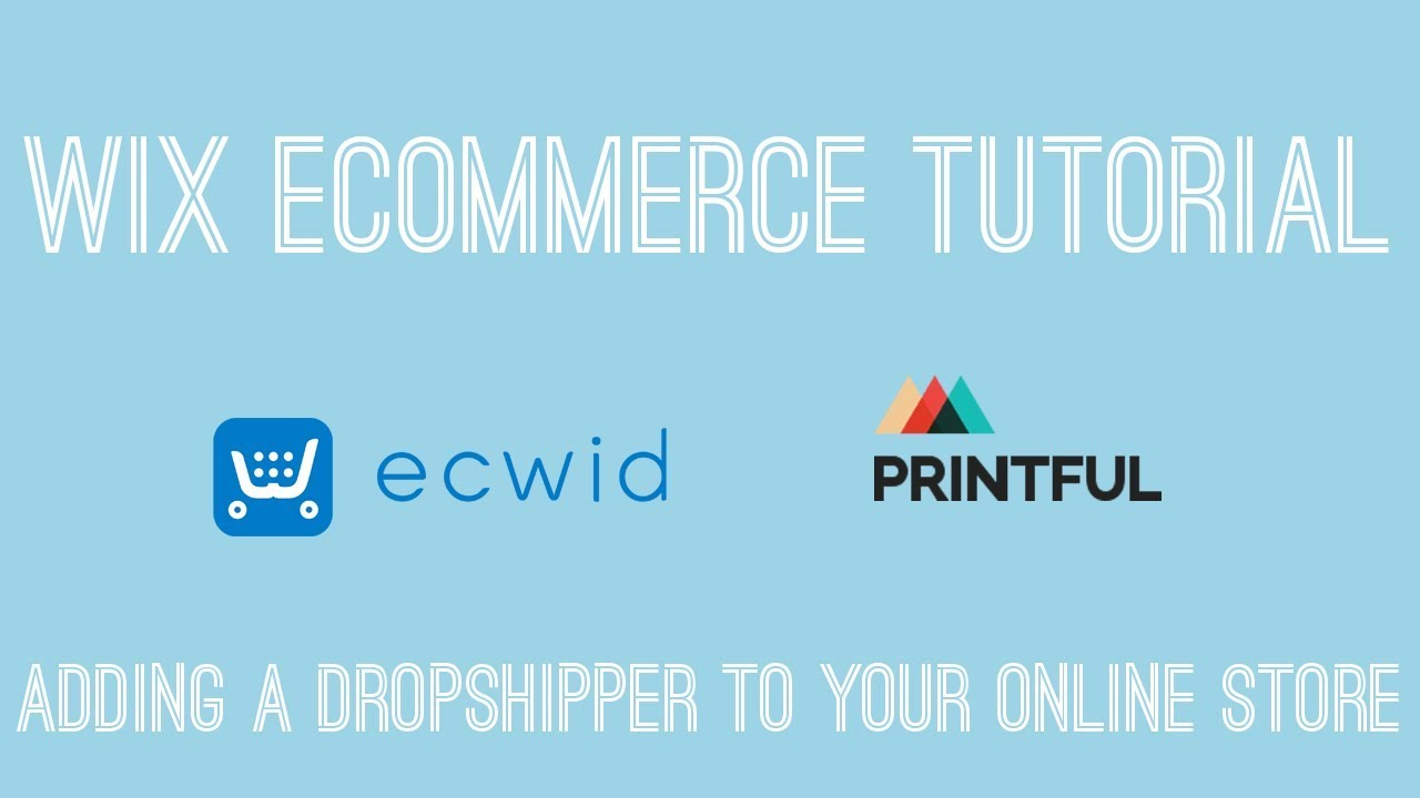 Adding A Dropshipper To Your Online Store in Wix - Wix Ecommerce Tutorial