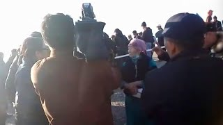 Протесты в восточном Казахстане привели к увольнениям полицейских / БАСЕ