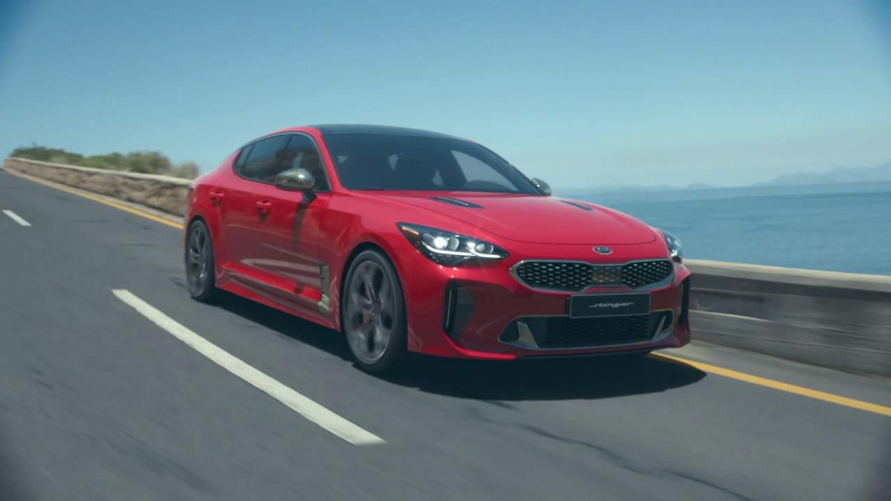 kia stinger gt kia performance saloon unveiled youtube. Black Bedroom Furniture Sets. Home Design Ideas