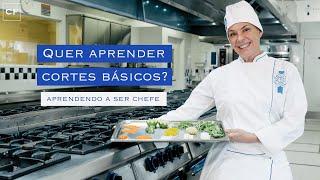 Cortes básicos da culinária francesa | Aprendendo a ser chef