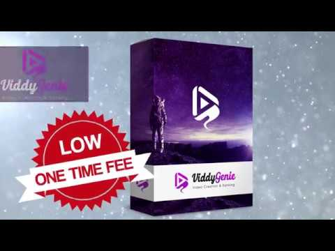 ViddyGenie Review + BEST ViddyGenie BONUS + Discount+ OTO INFO