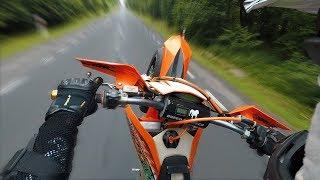 Chillin on KTM Exc 125 Sixdays #1 - Gopro Hero 5