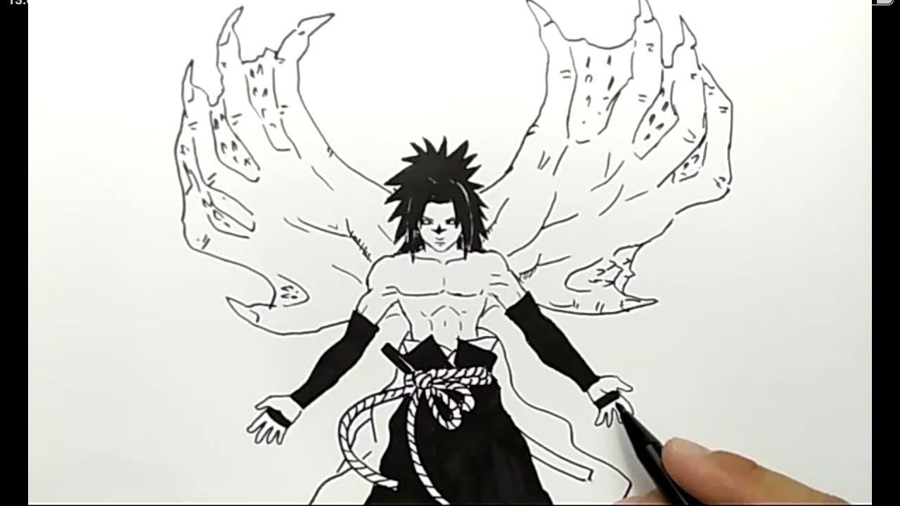 62+ Gambar Naruto Pensil Keren Paling Bagus