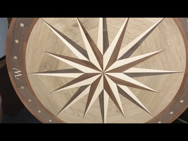 Try a Hardwood Floor Medallion in Your Home