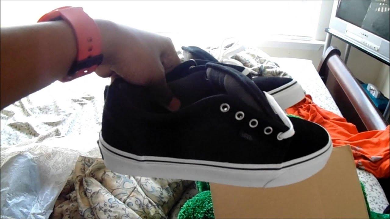 fb46ae2720 Black Vans Chukka Low Review   On Feet - YouTube