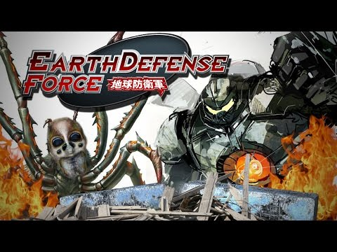 MECH MASSACRE - Earth Defense Force 4.1 Gameplay Part 2