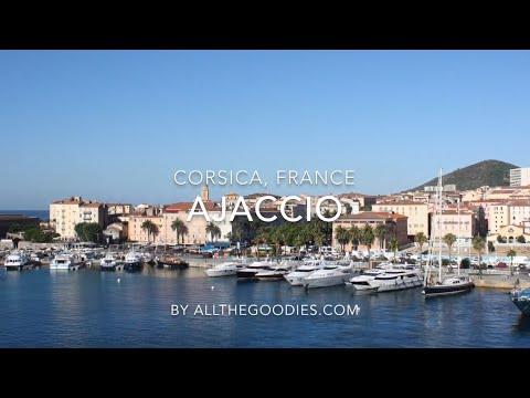 European cruise ports - Ajaccio, Corsica