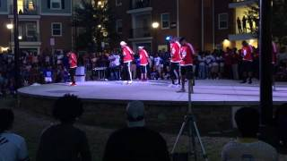 Kennesaw State Yard Show Omicron Iota Chapter of Kappa Alpha Psi Fraternity