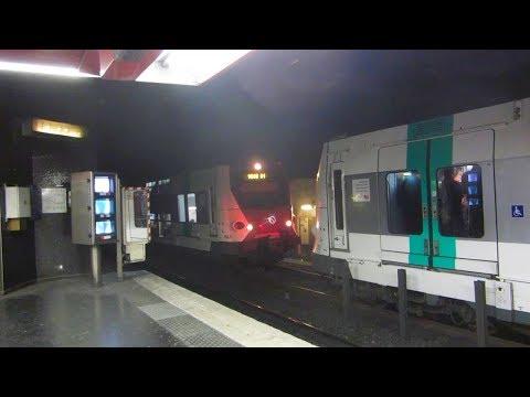 [Paris] MI09+MS61+MI2N+MI84 RER A - Auber (SACEM+Caméras quai)