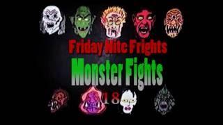 Friday Nite Frights Monster Fights 18- School Girls vs  Ghouls
