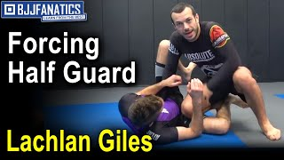 Forcing Half Guard - Clearing Line of Feet by Lachlan Giles