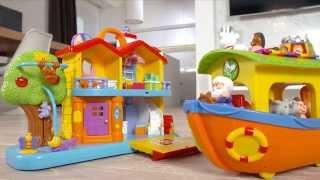 Dumel Discovery ZABAWKI INTERAKTYWNE domek i arka Noego