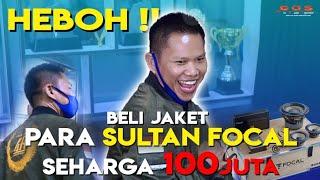 GOKIL JAKET AUDIO 100jt di BELI,, !! FOCAL ANNIVERSARY 40th tweternya Beryllium SUARA TOP MENDUNIA