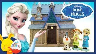 Histoire Reine des Neiges -  Disney Animators - Elsa, Anna et Olaf -Titounis Touni Toys