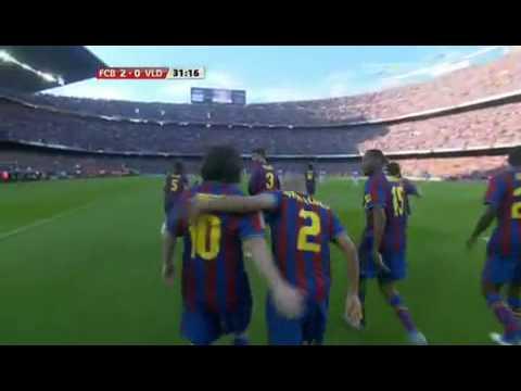 FC Barcelona vs Valladolid 4-0 (16-05-10) Highlights Sky Sports