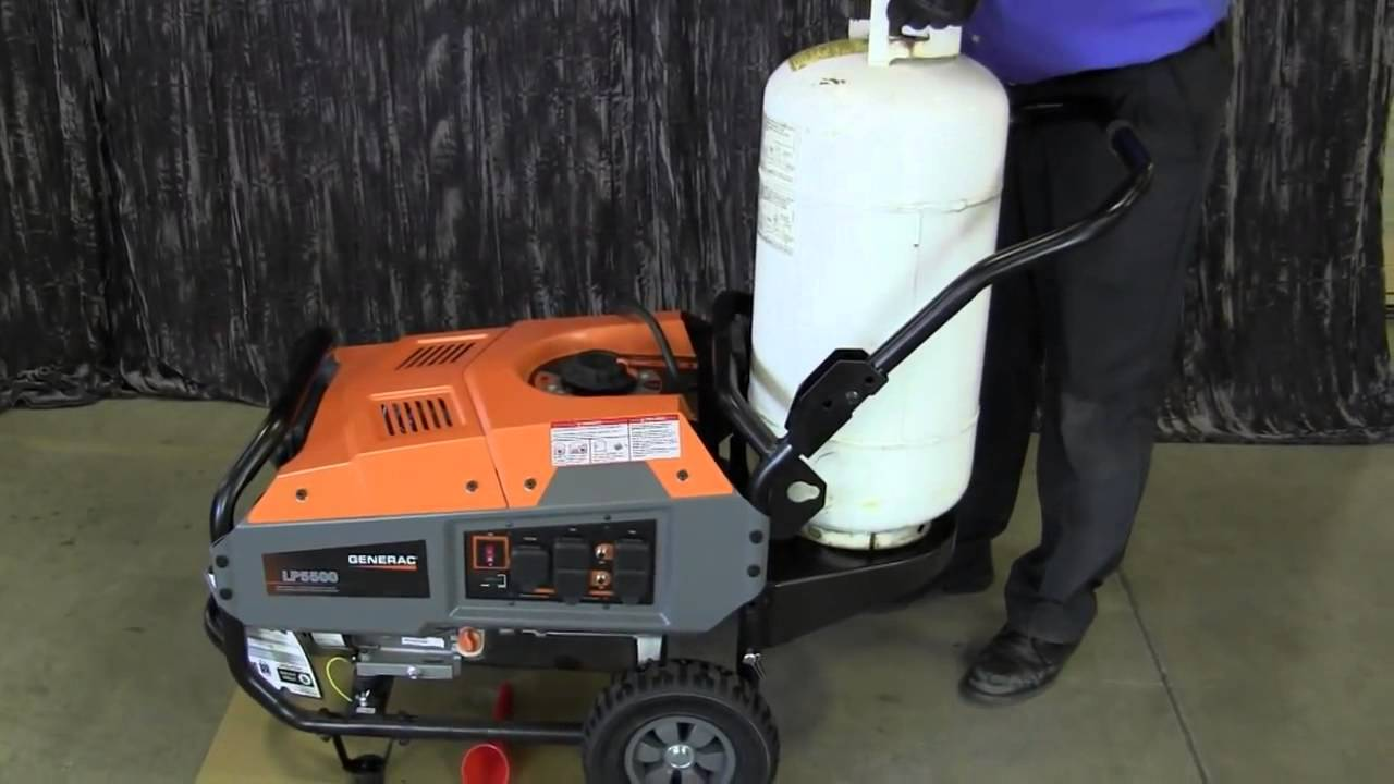 Lp Series Portable Generator
