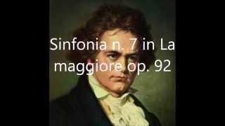 Ludwig van Beethoven sinfonia n.7 in La maggiore op. 92