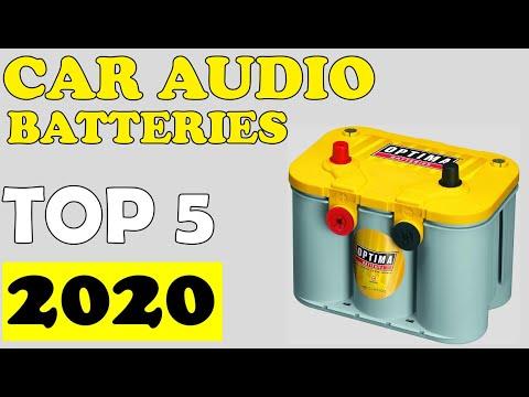 TOP 05: Best Car Audio Batteries in 2020