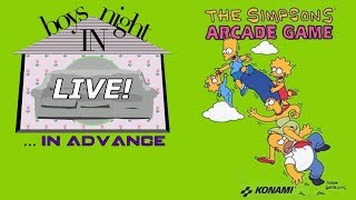 The Simpsons Arcade Game (Xbox 360) [Boys Night In LIVE!]