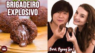 BRIGADEIRO EXPLOSIVO (Part. Pyong Lee) | Cozinha do Bom Gosto | Gabi Rossi