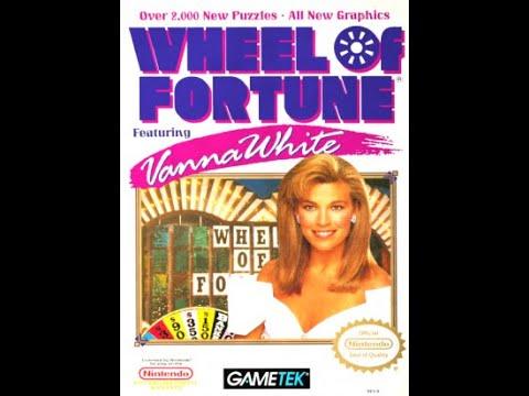 NES Wheel of Fortune Featuring Vanna White Showdown