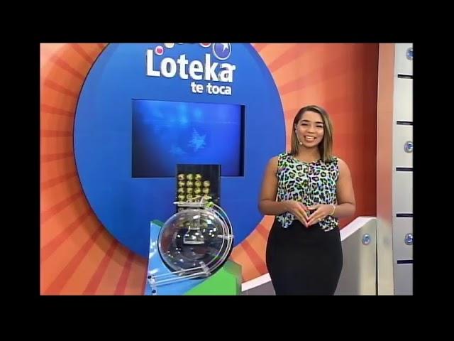 Loteka Lotería Electrónica Sorteo 06:00 PM 05-01-2021