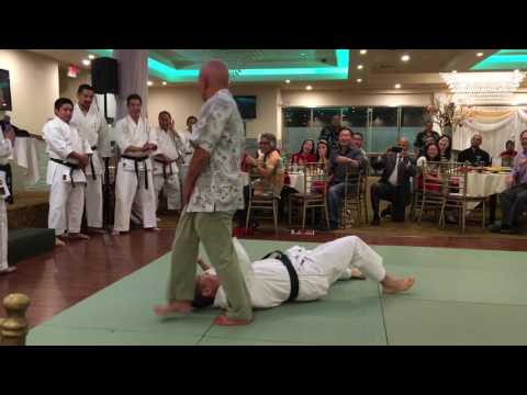 Soke Takayuki Kubota Karate Demo Nikkei Games 2016