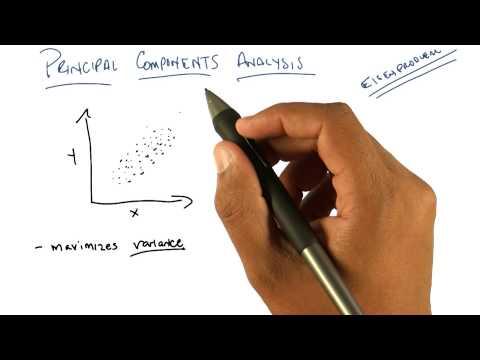 Principal Components Analysis - Georgia Tech - Machine Learning