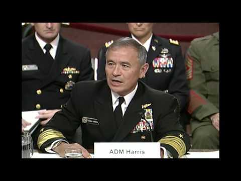 Pacom Commander Testifies at SASC Hearing