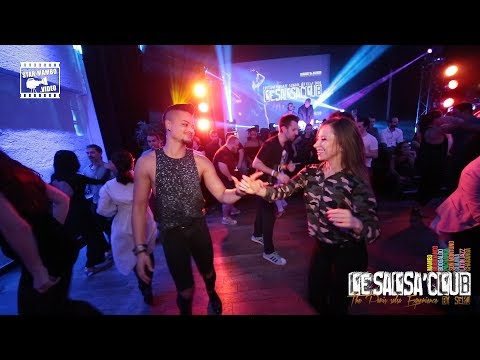 Harlem & Jenny - social dancing @ LeSalsa'Club Party